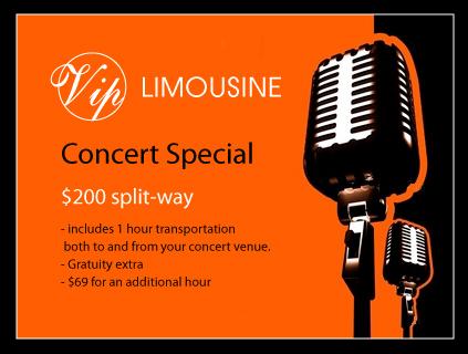 Minneapolis Limousine Concert Deal Special