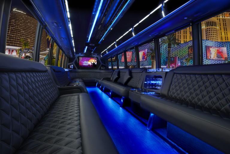 Interior of Bus
